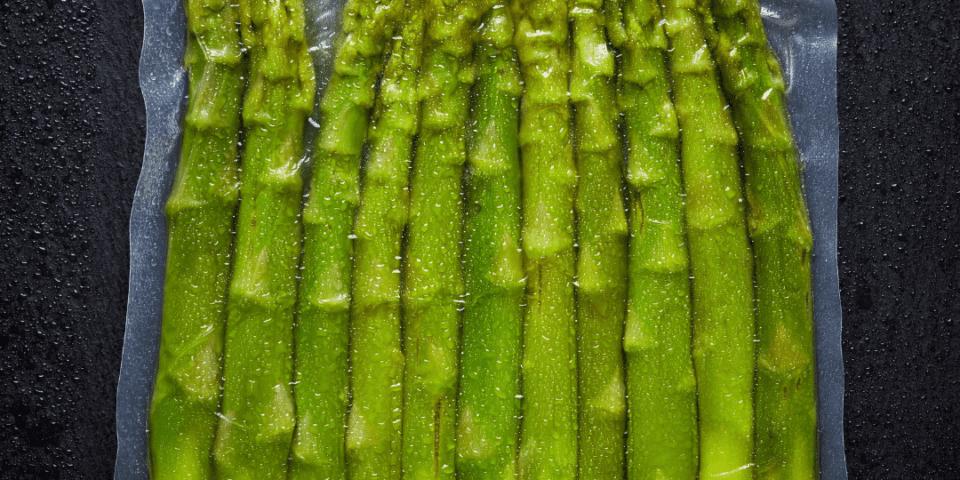 asparagi in sottovuoto